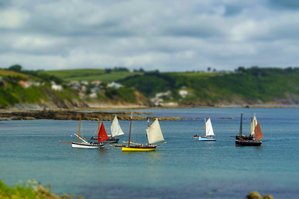 "I can't play around with special pictures modes and such when I'm working, but I had a blast playing around with modes like the ""Mini"" mode, a faux Tilt and Shift mode, at events like the Lugger Regatta. Photo © Bob Krist with Sony RX100iii"
